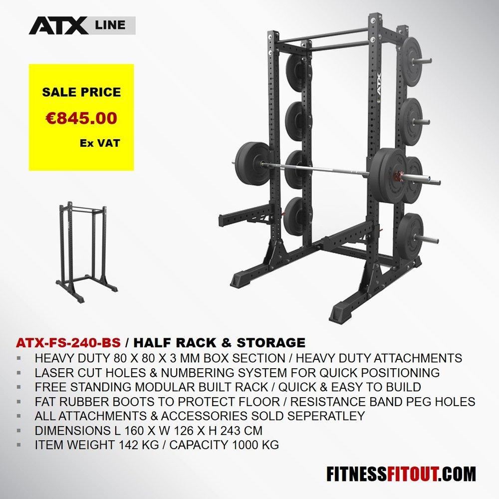 ATX  HALF RACK & STORAGE