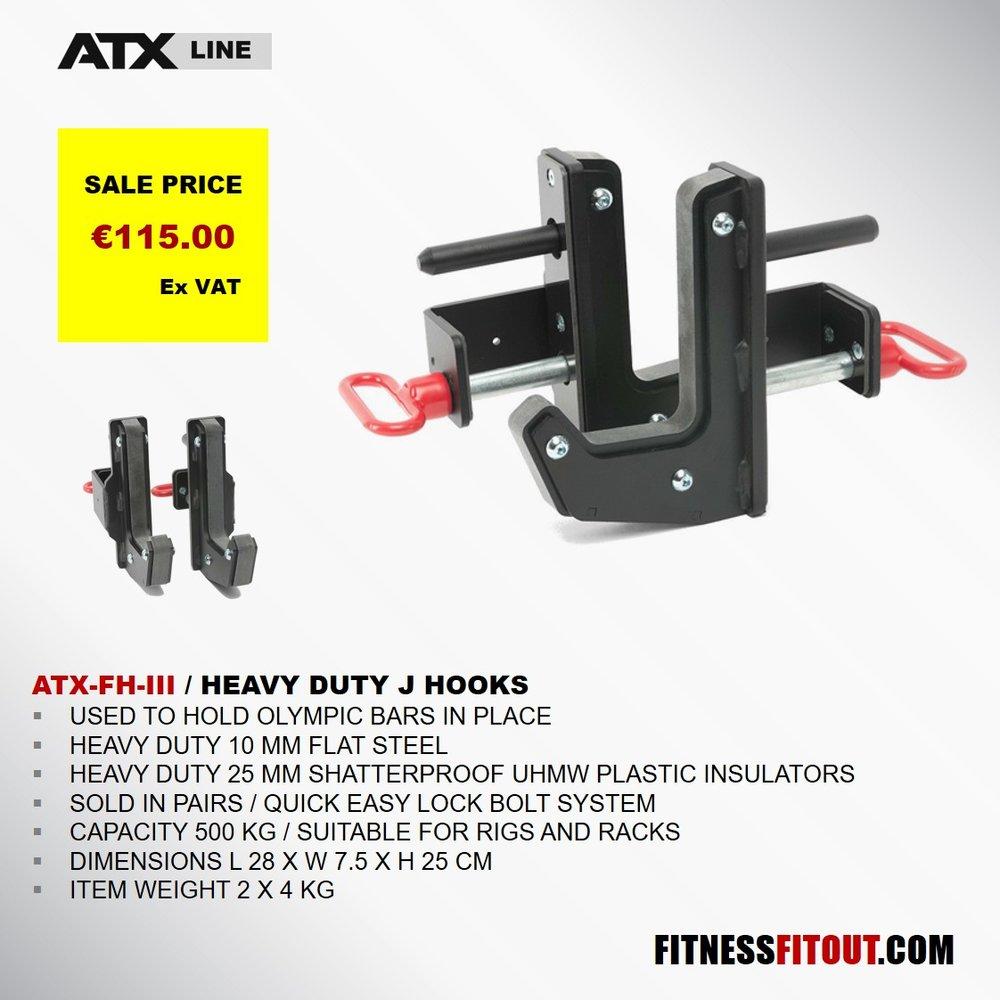 ATX  HEAVY DUTY J HOOKS