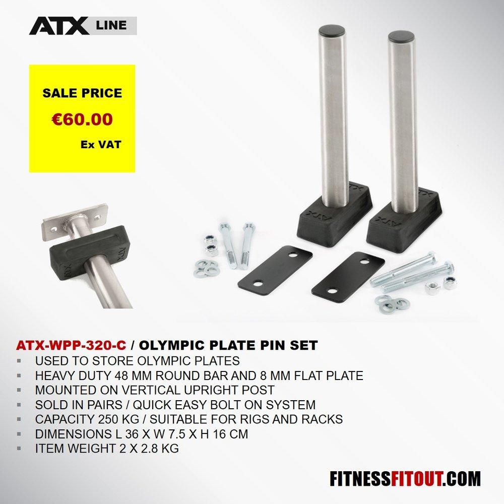 ATX  OLYMPIC PLATE PIN SET