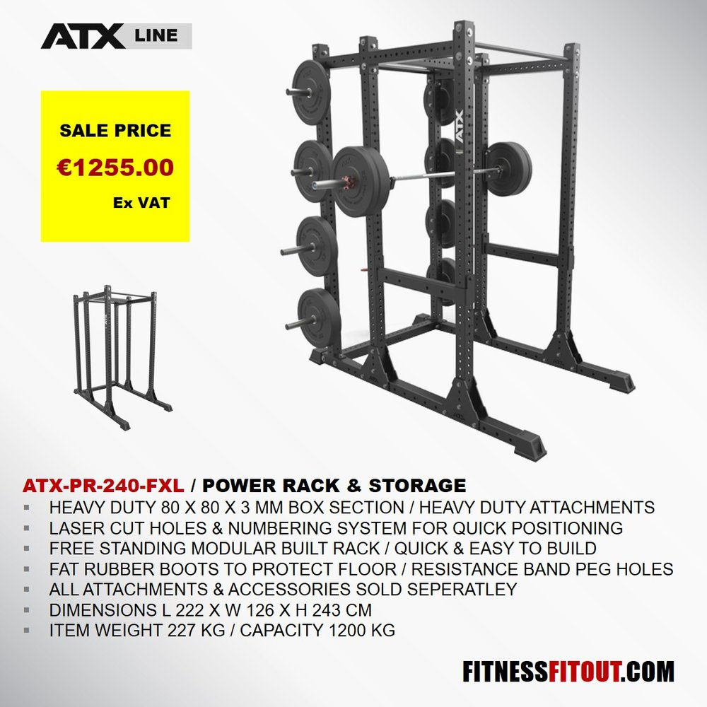 ATX  POWER RACK & STORAGE