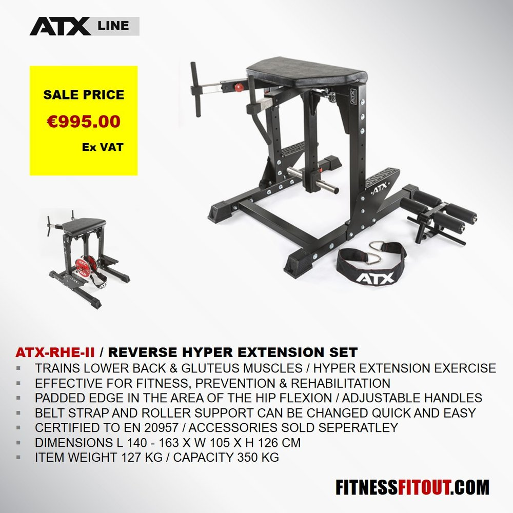 ATX  REVERSE HYPER EXTENSION SET