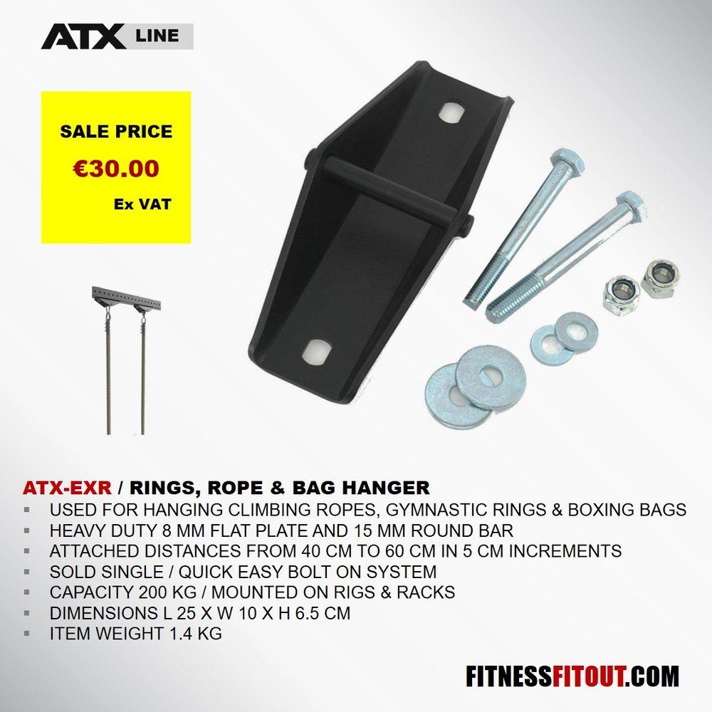 ATX  RINGS, ROPE & BAG HANGER