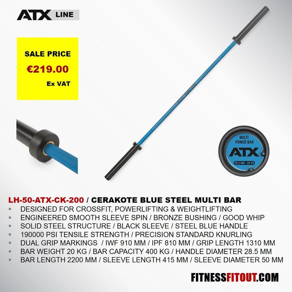 ATX  BLUE STEEL MULTI BAR