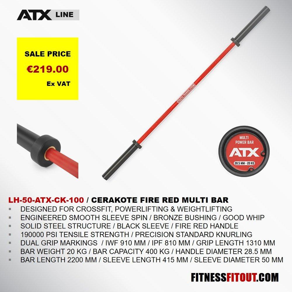 ATX  FIRE RED MULTI BAR