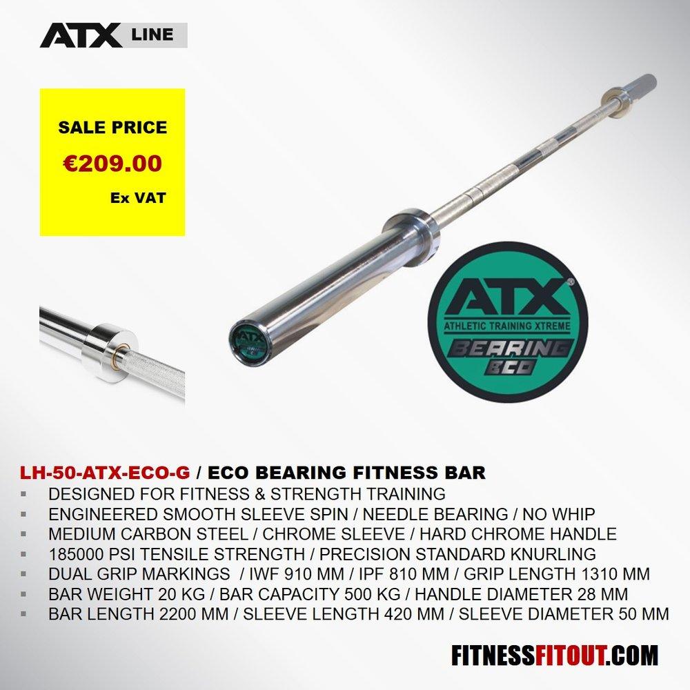 ATX  ECO BEARING FITNESS BAR