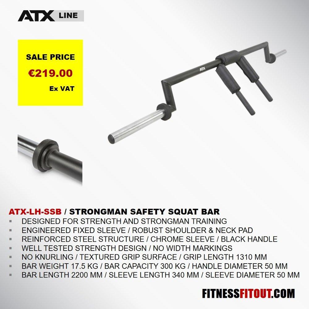 ATX  STRONGMAN SAFETY SQUAT BAR