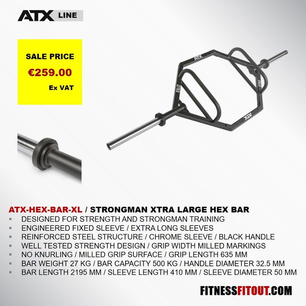 ATX  STRONGMAN XTRA LARGE HEX BAR