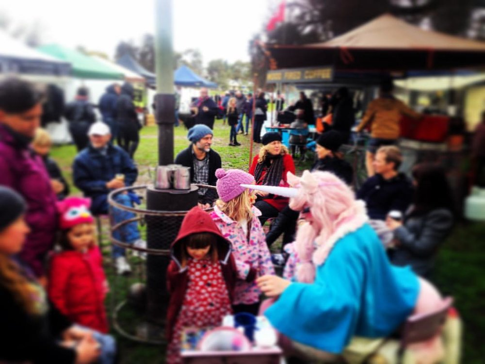 Fun at the Castlemaine Artist Market https://www.facebook.com/CastlemaineArtistsMarket