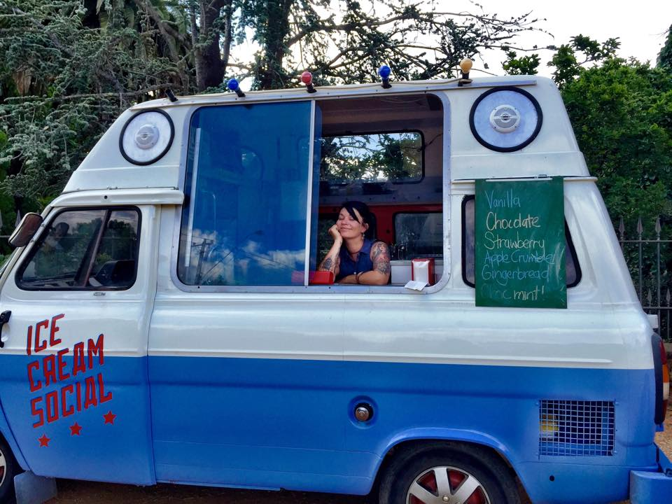 Ice Cream Social Van about town  http://www.icecreamsocial.com.au