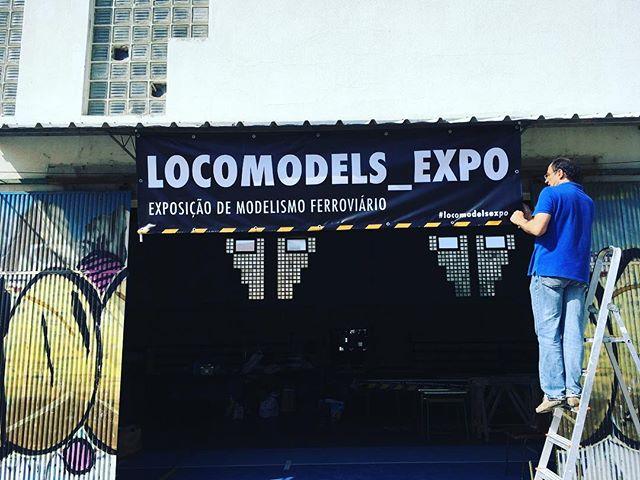 Em preparativos! #locomodelsexpo #scaletrains #scalemodel #h0trains #modelismoferroviario #ferromodelismo