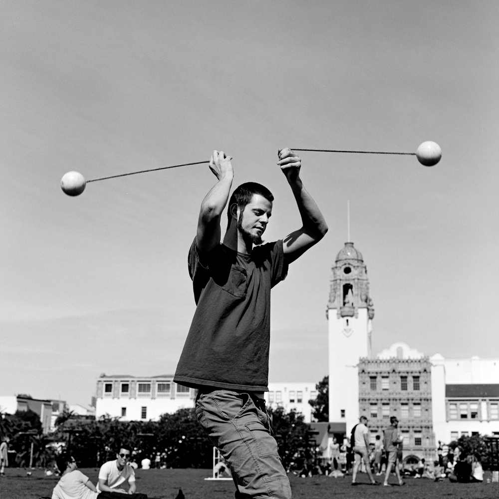 Poi Juggler, San Francisco - 2016