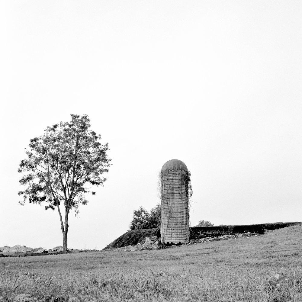 Abandoned Silo - 2016