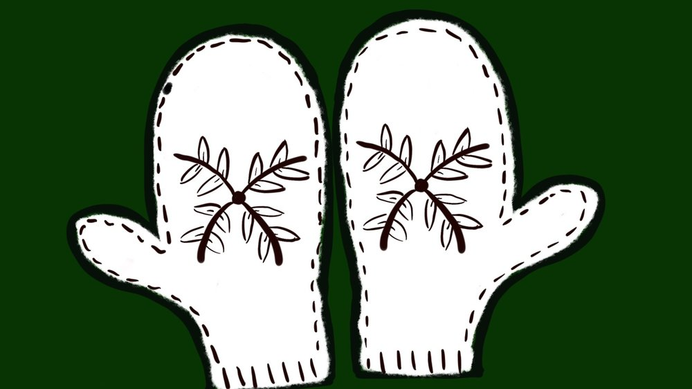 Mittens I drew on procreate