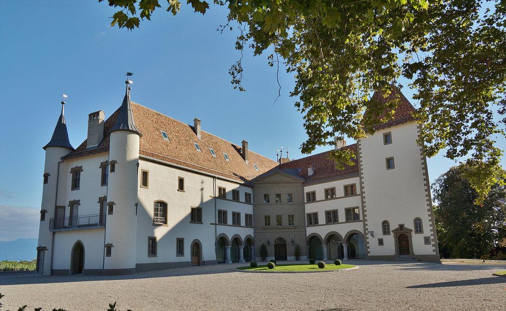 Chateau Allaman front entrance.jpg