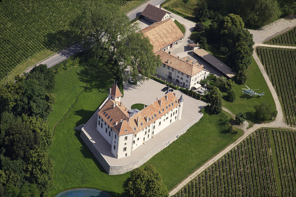 Chateau Allaman A 12th Century historic Estate with over 74 Acres and 100 rooms