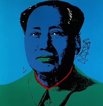 Chairman Mao (Andy Warhol - c. 1986, CMOA limited edition)