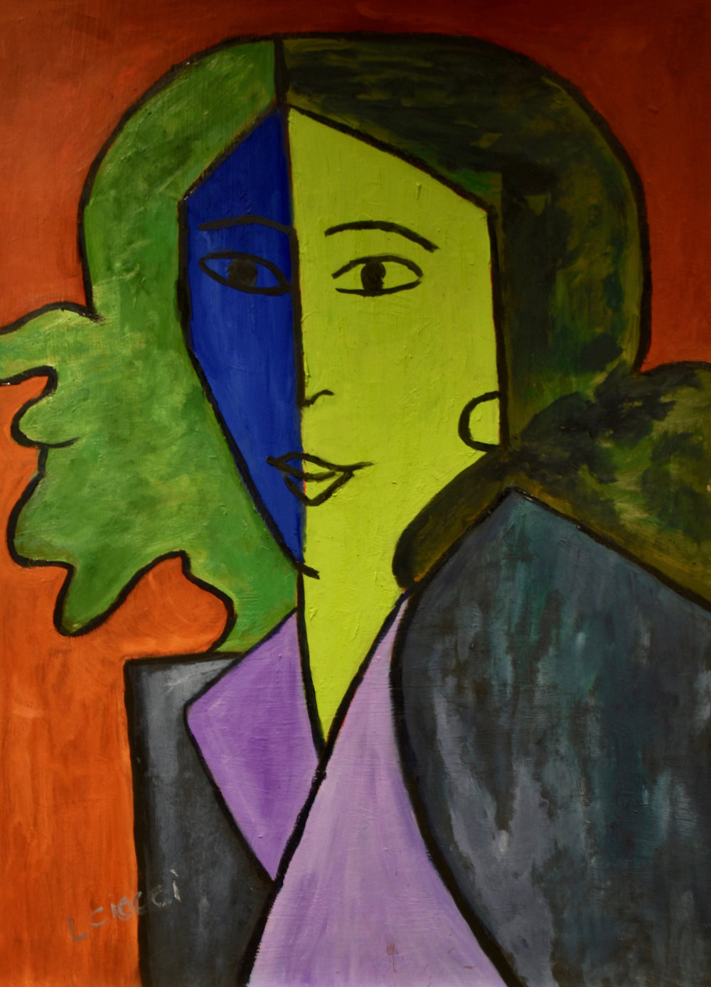 Woman in the Style of Matisse