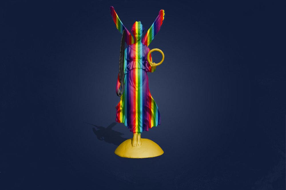 Wreath & Feather (Spectrum)