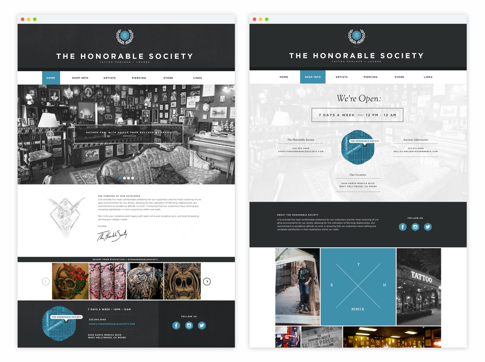 UI/UX - The Honorable Society