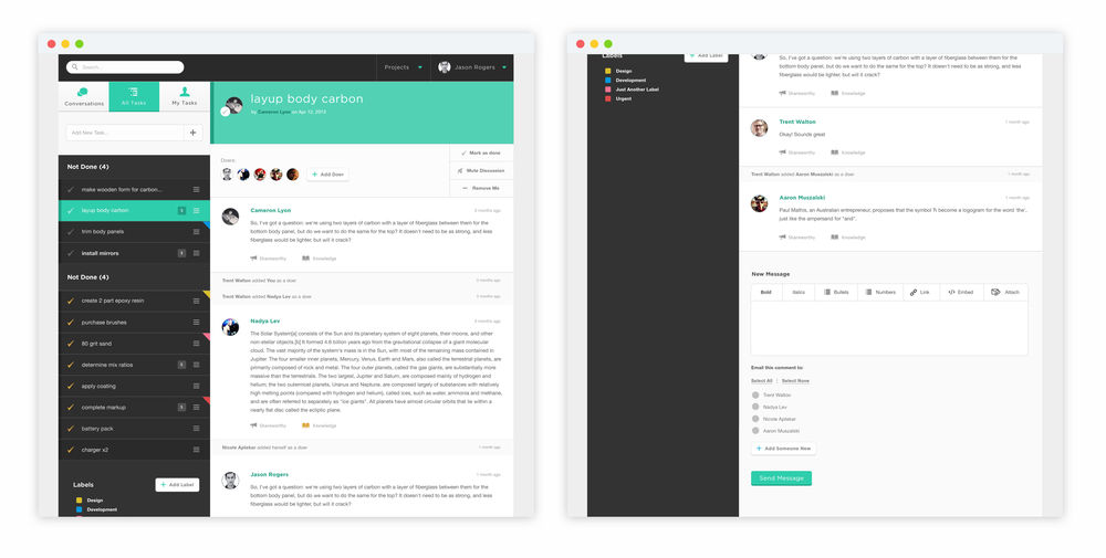 UI/UX  - Threadable (YC W14)
