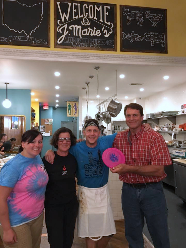 Nadja, Rose and fellow entertainer Farmer John discovered  J. Marie's Wood-Fired Kitchen & Drinks  in Wapakoneta, OH. Great restaurant!