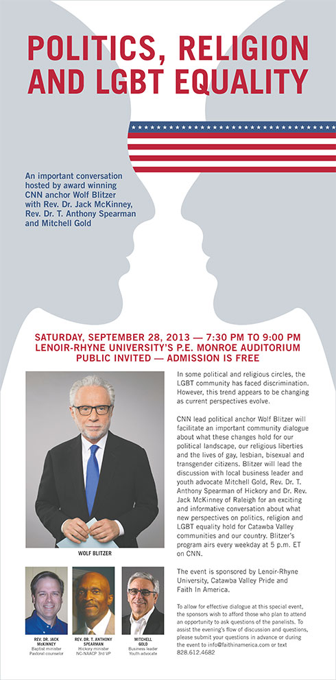 Event with Wolf Blitzer