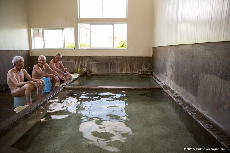 kamenoyu, bathers