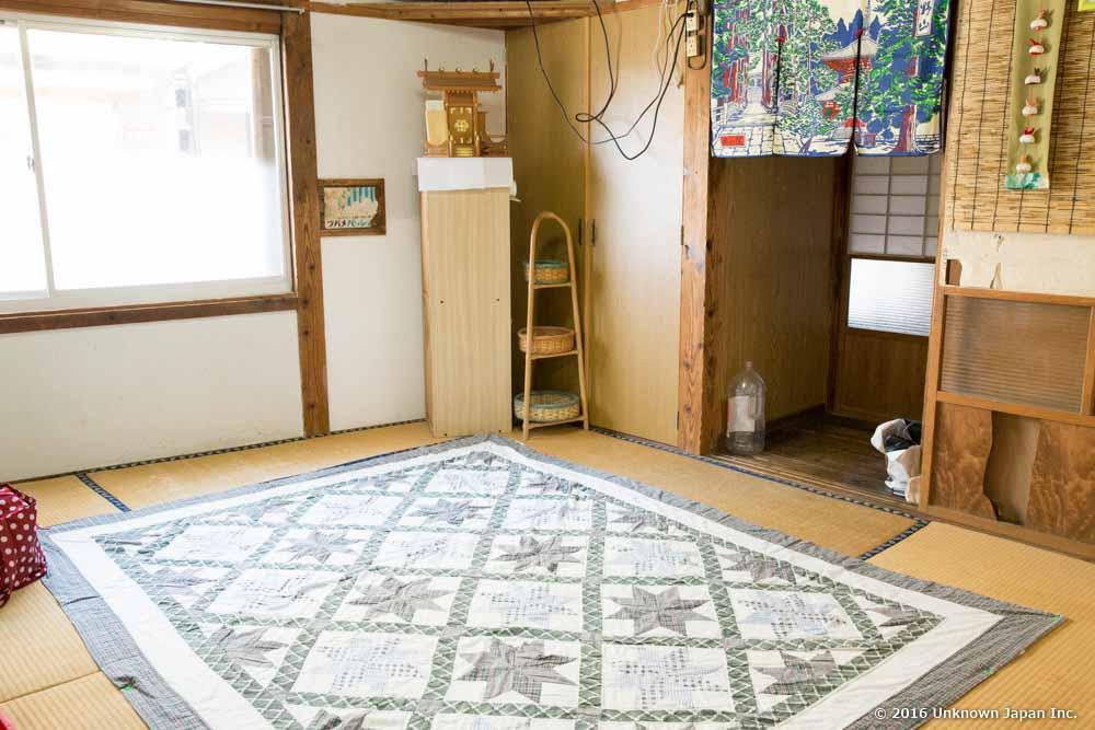 kimiyoshi onsen, relaxation room