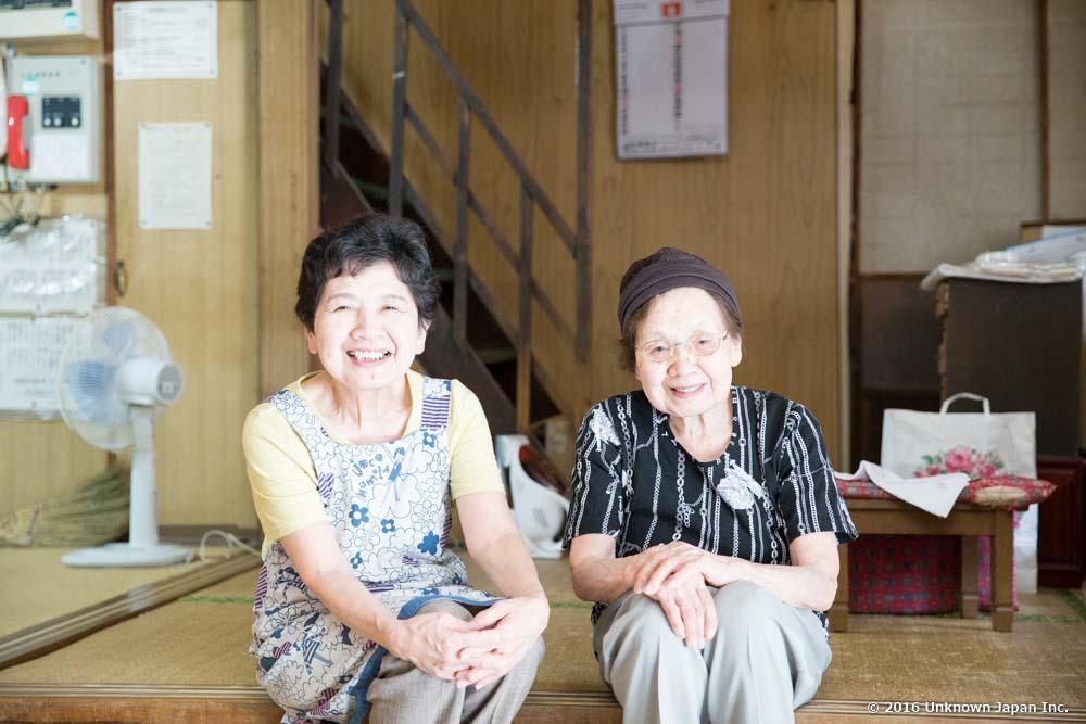 Umeya ryokan, Miyo & Mitsuko
