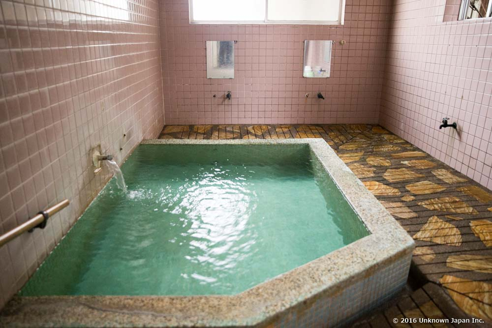 Sagara onsen, bath