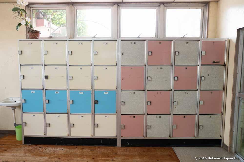Tanoyu Onsen, locker