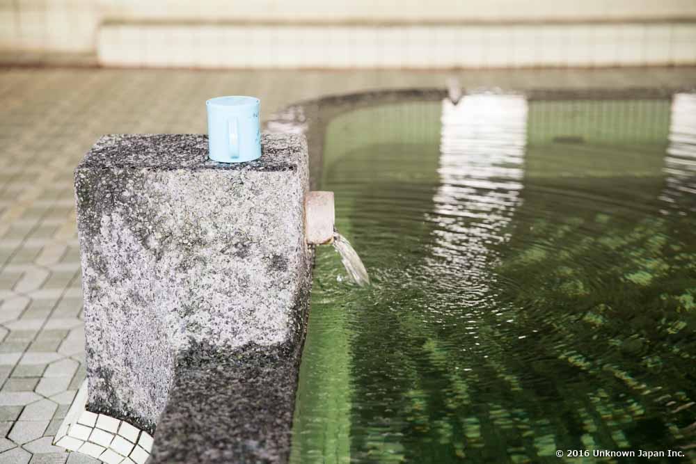 Tanoyu Onsen, faucet