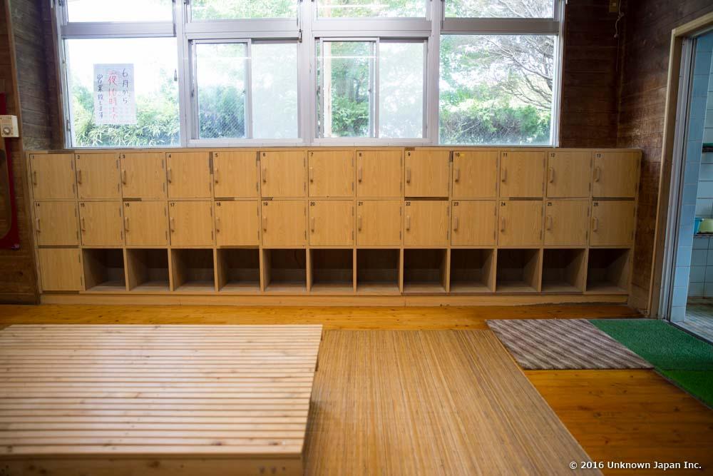Shinyu Onsen Ryokan, locker