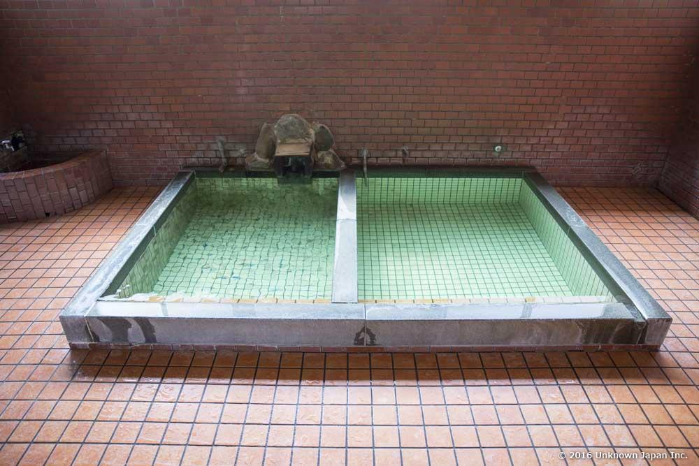 Momiji Onsen, Bath