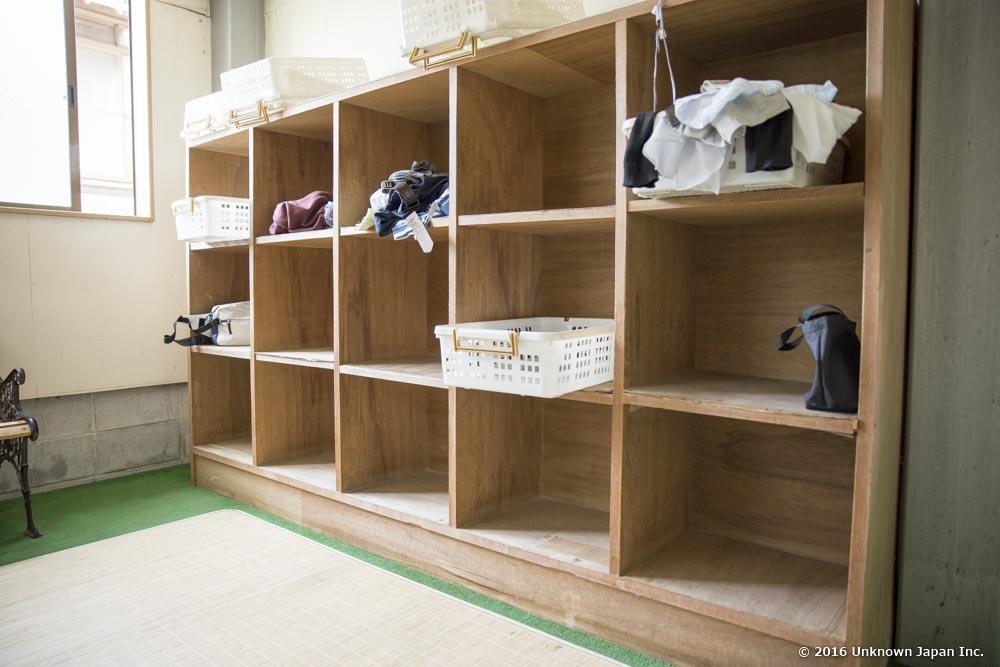 Ota Kosen, dressing room