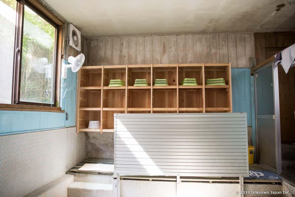 Kyodoyu, dressing room