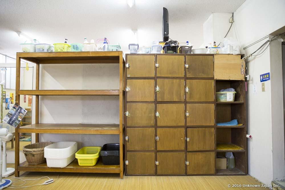 Daikoku Onsen, dressing room
