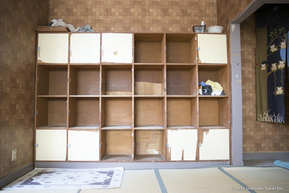 Tsurumaru Onsen, dressing room