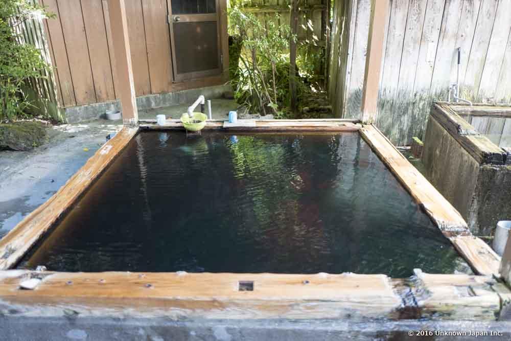 Tsurumaru Onsen, open-air bath