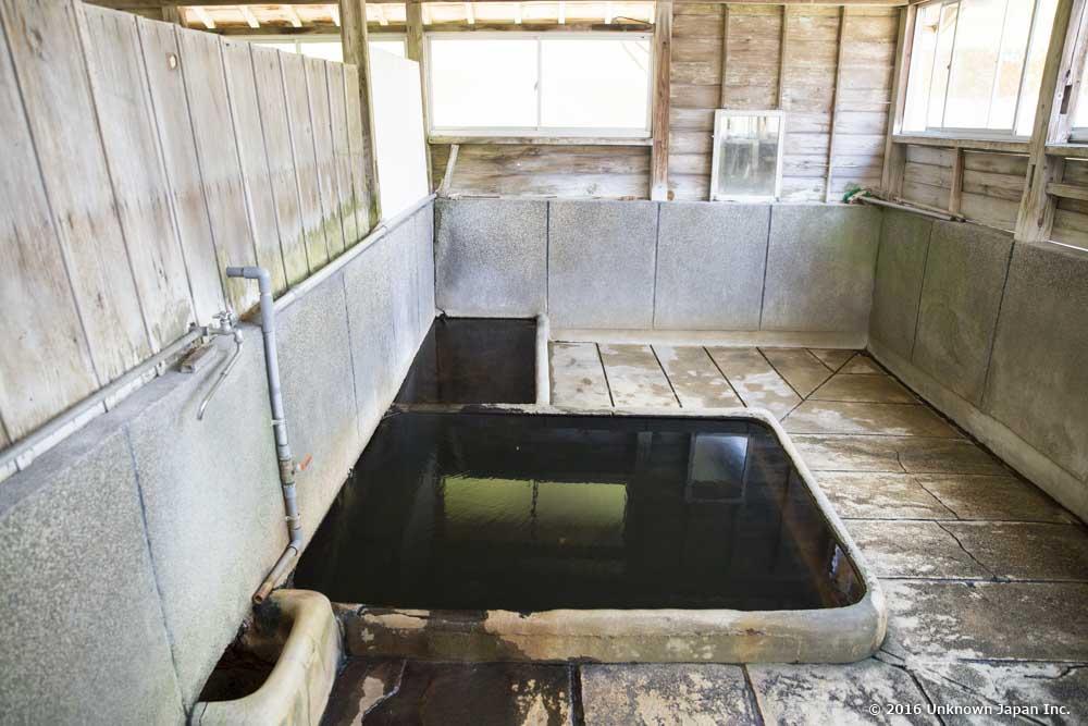Maeda Onsen, bath