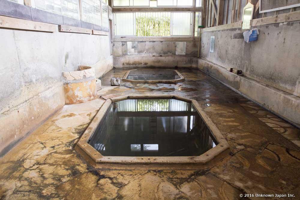 Muranoyu Onsen, bath