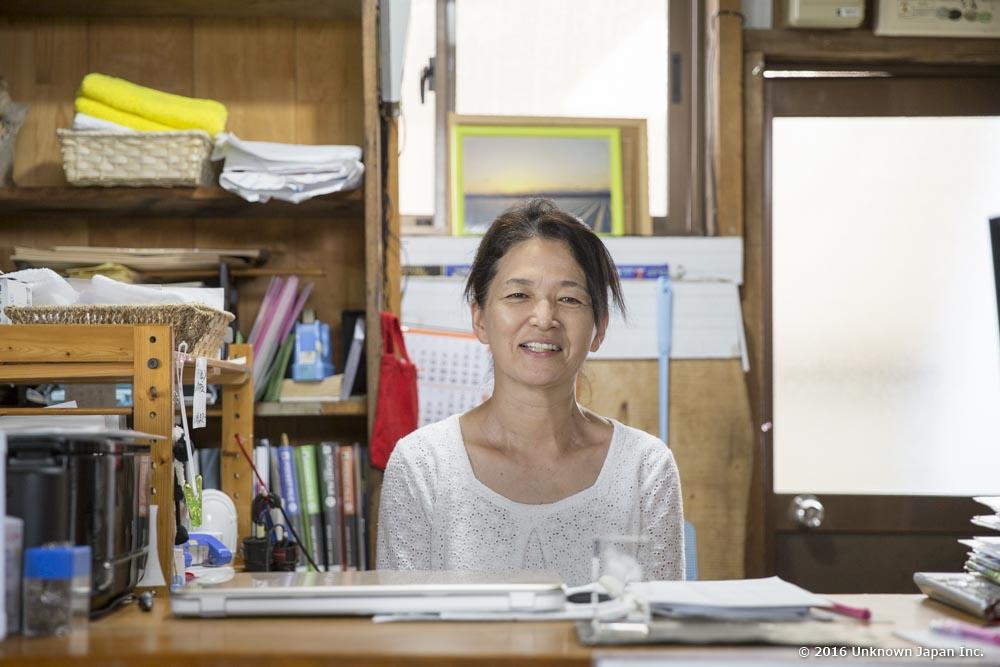 Kawanabe Onsen, owner