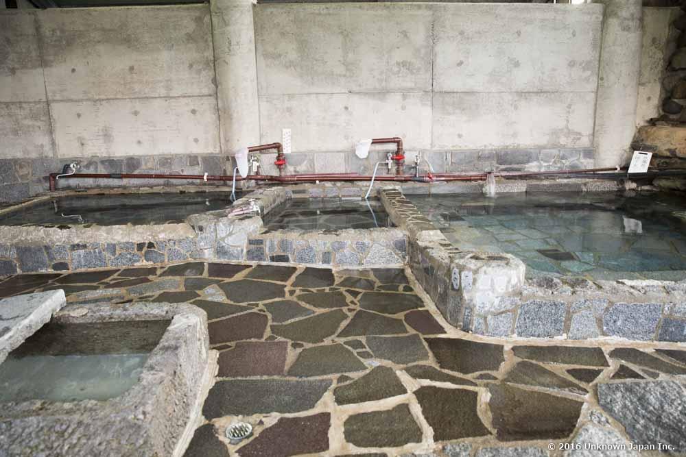 Kawanabe Onsen, bath