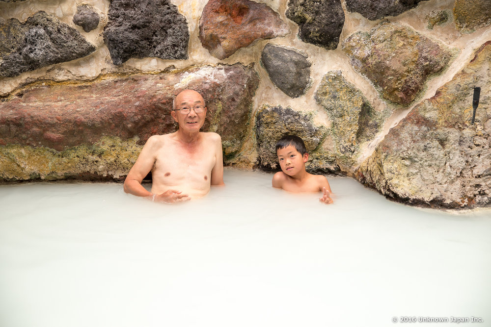 Shinmoeso, bathers