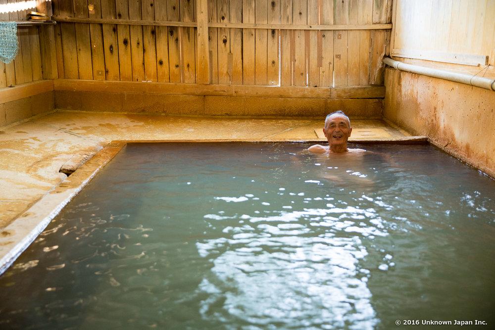 Tajima Honkan, bather