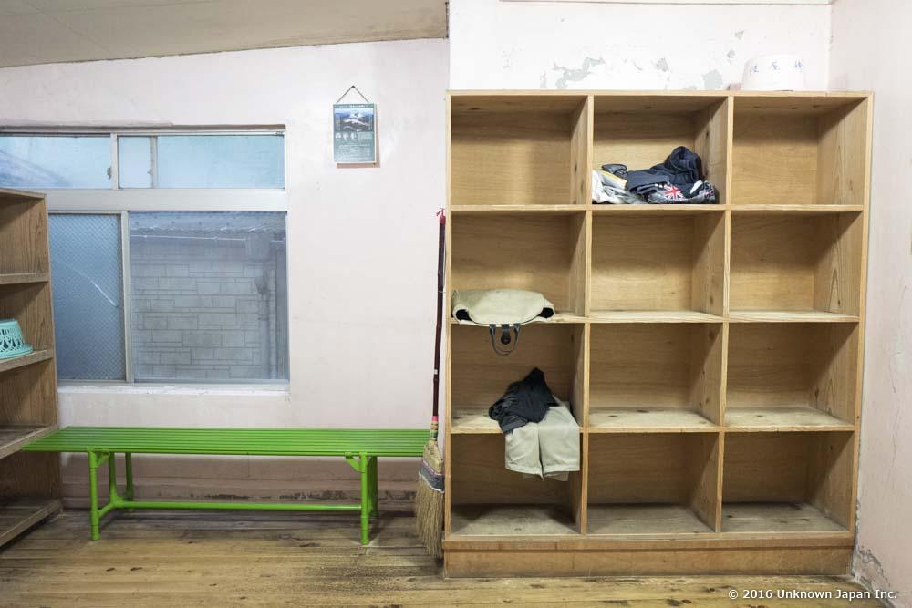 Kiraku Onsen, dressing room