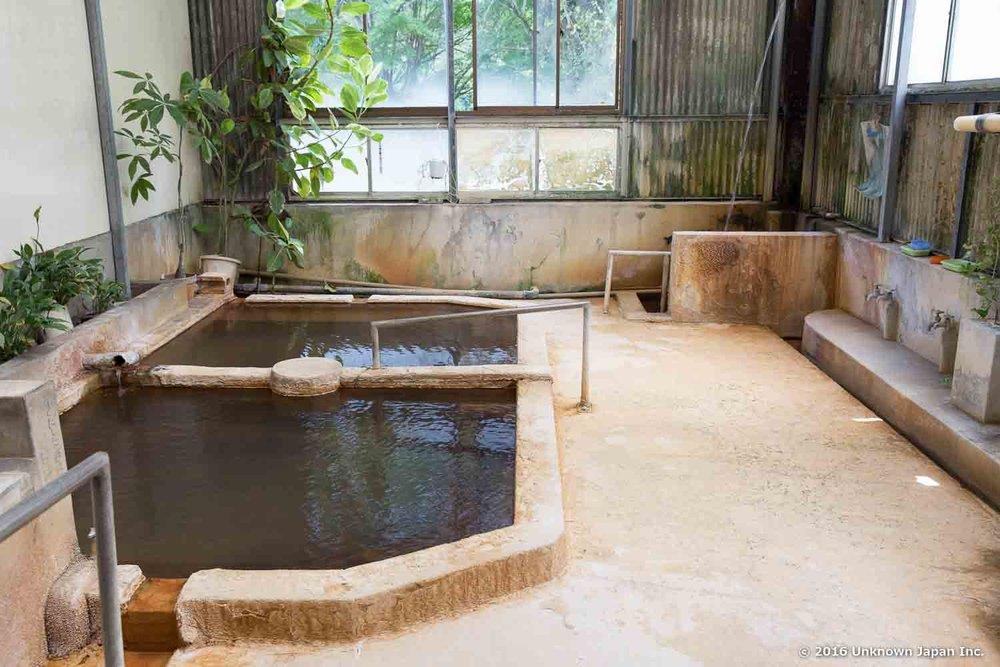 Rakuenso, bath