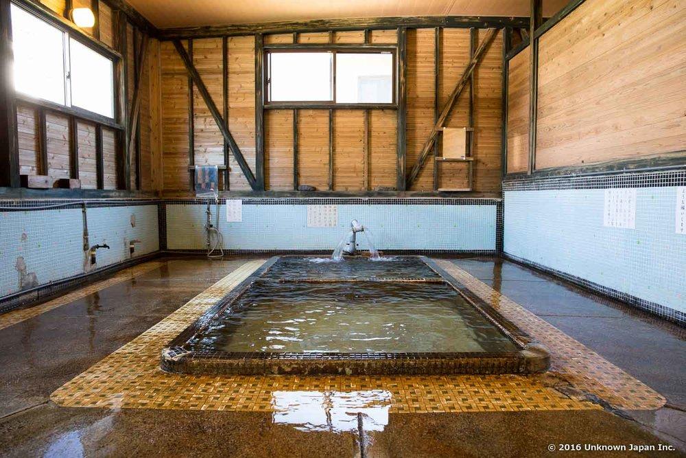 Enoshima Onsen, bath