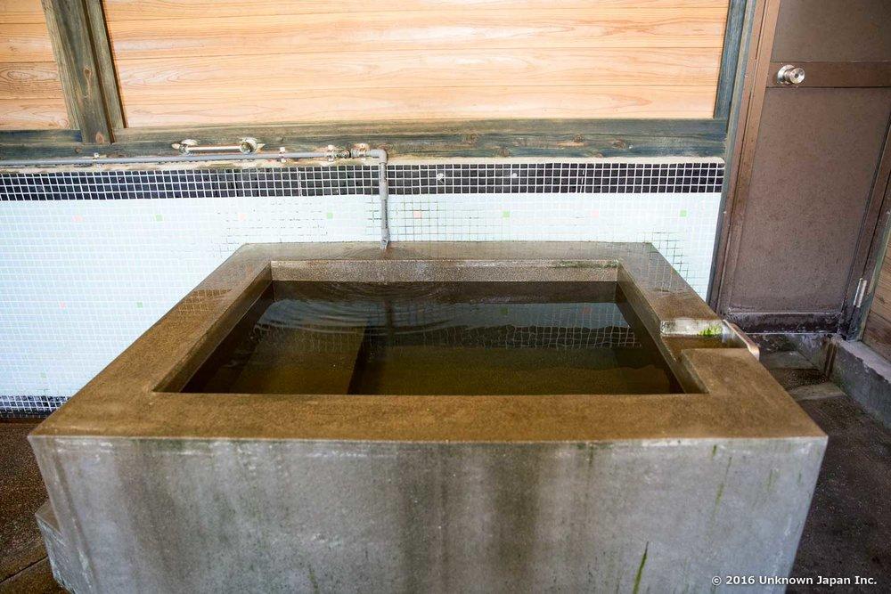 Enoshima Onsen, cold bath