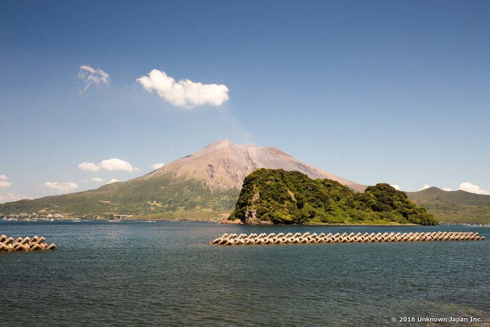 Enoshima Onsen, sakura-jima